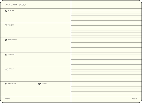 Paper Planner Format